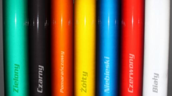 Dostępne kolory folii odblaskowych