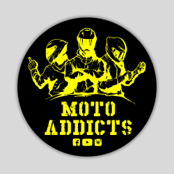 Wlepy Moto Addicts...