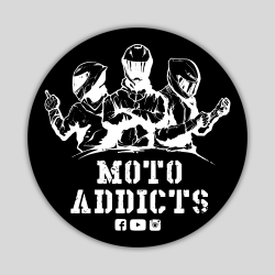 Wlepy Moto Addicts