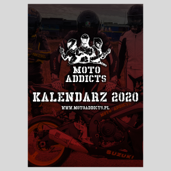 Kalendarz A3 Moto Addicts...