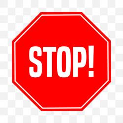 Naklejka Stop